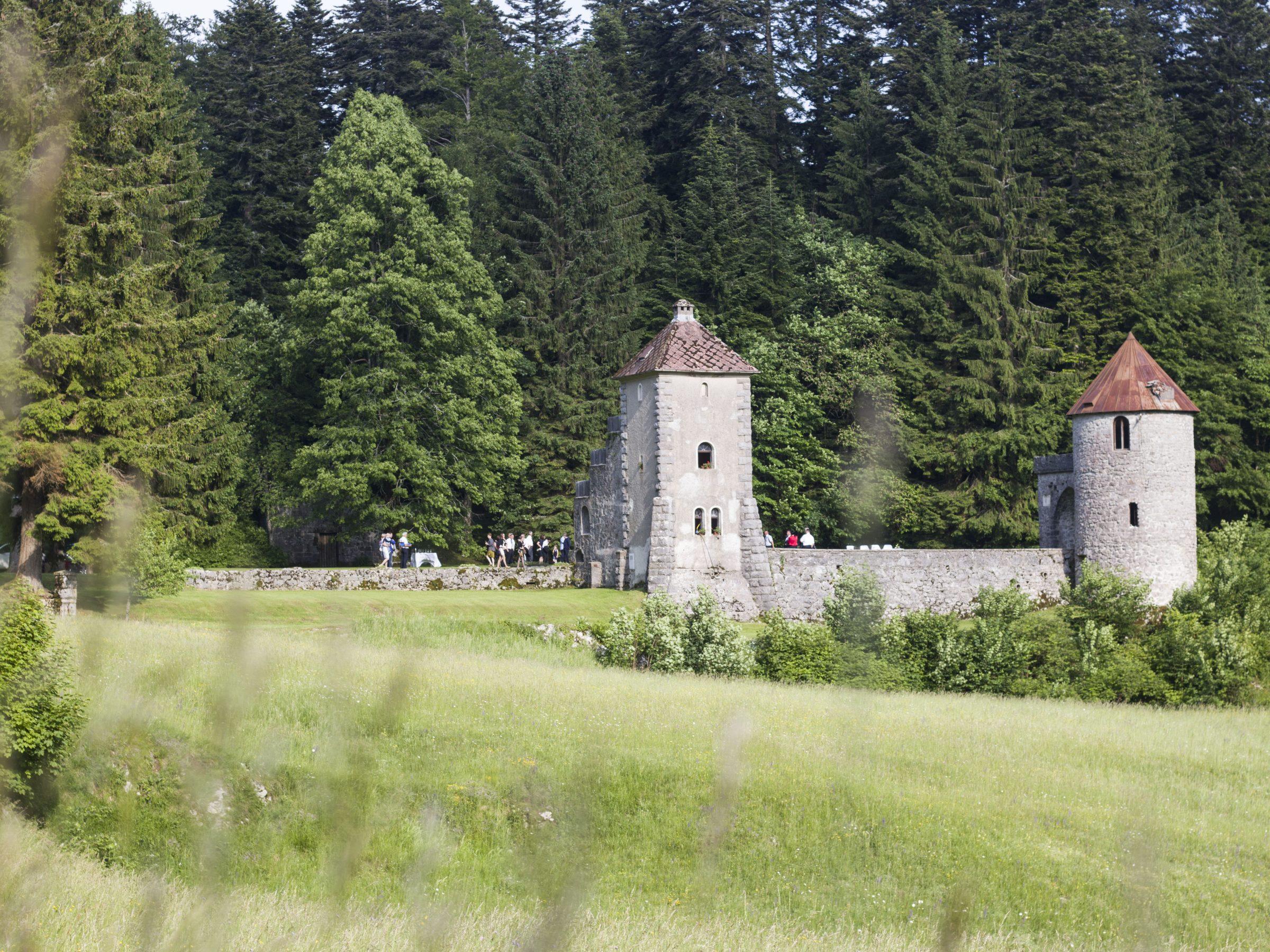Ostanki lovskega dvorca Masun